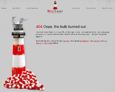3 great examples of 404 error pages by dc website firms lmo